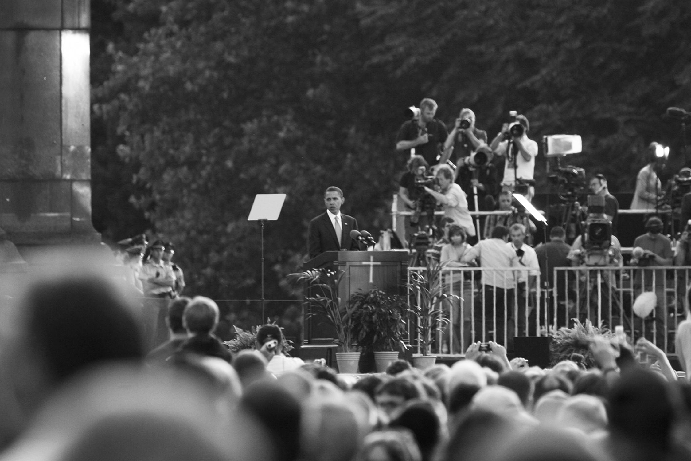Fulguration #1 (Barak Obama)