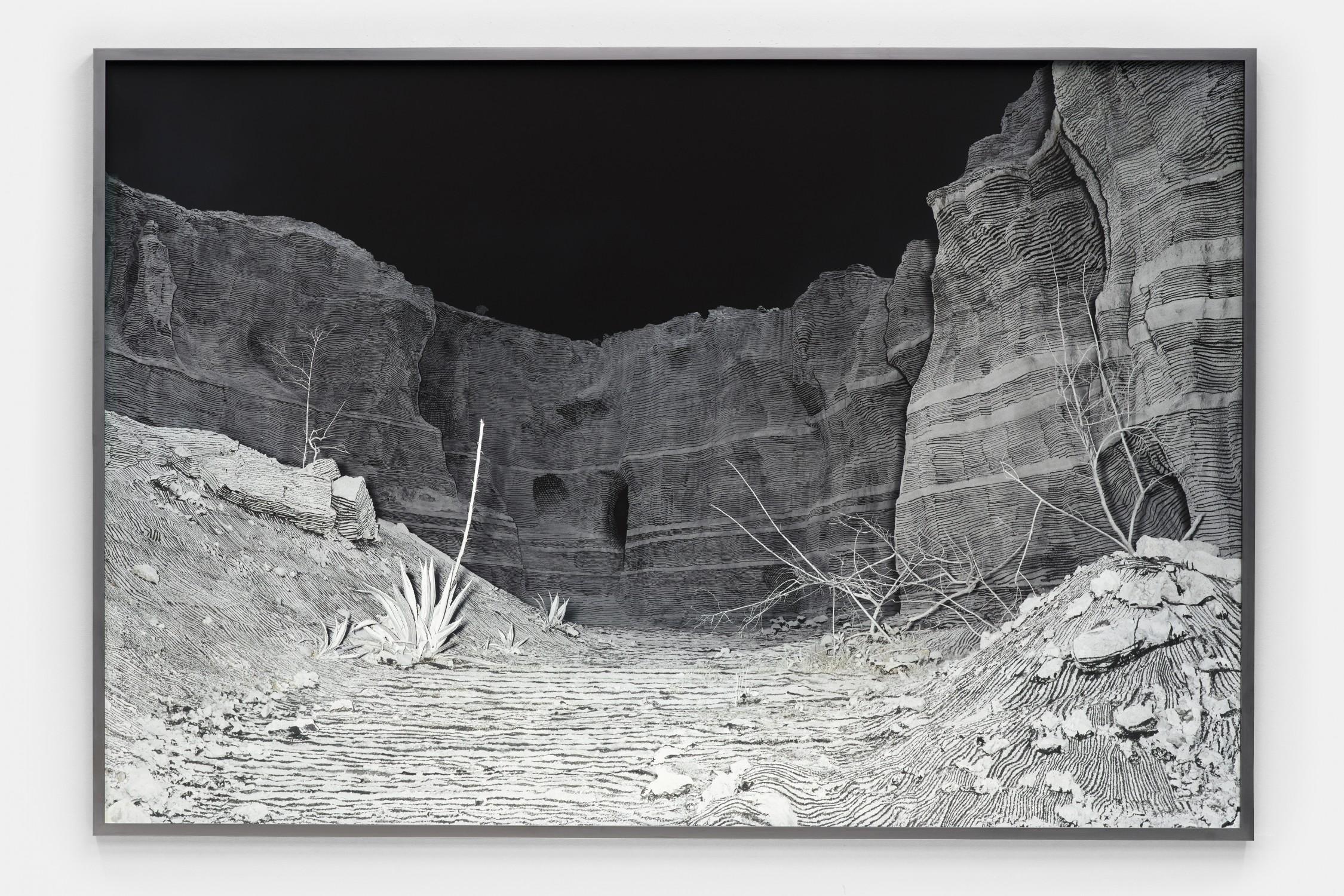 Landscape Painting Quarry (Night)
