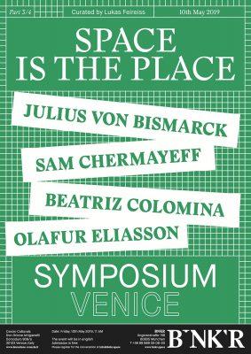 Julius von Bismarck at the 58th Venice Biennale
