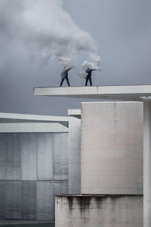 Terrorartists (Kunstmuseum Bonn / Smoke), by Wermke / Leinkauf