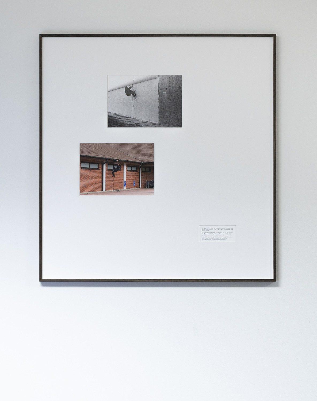 """Überwindungsübungen """"Seil mit Schlingen"""" / """"Aldi"""", by Wermke / Leinkauf in cooperation with Lutz Henke"""